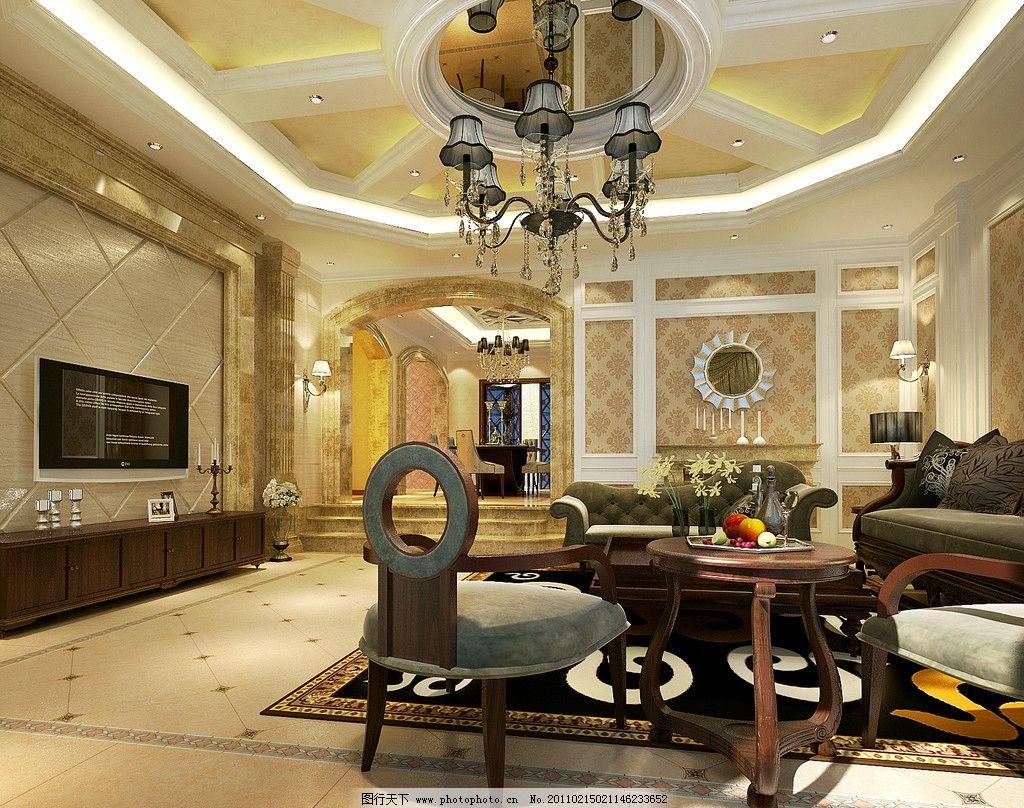 欧式别墅设计图片