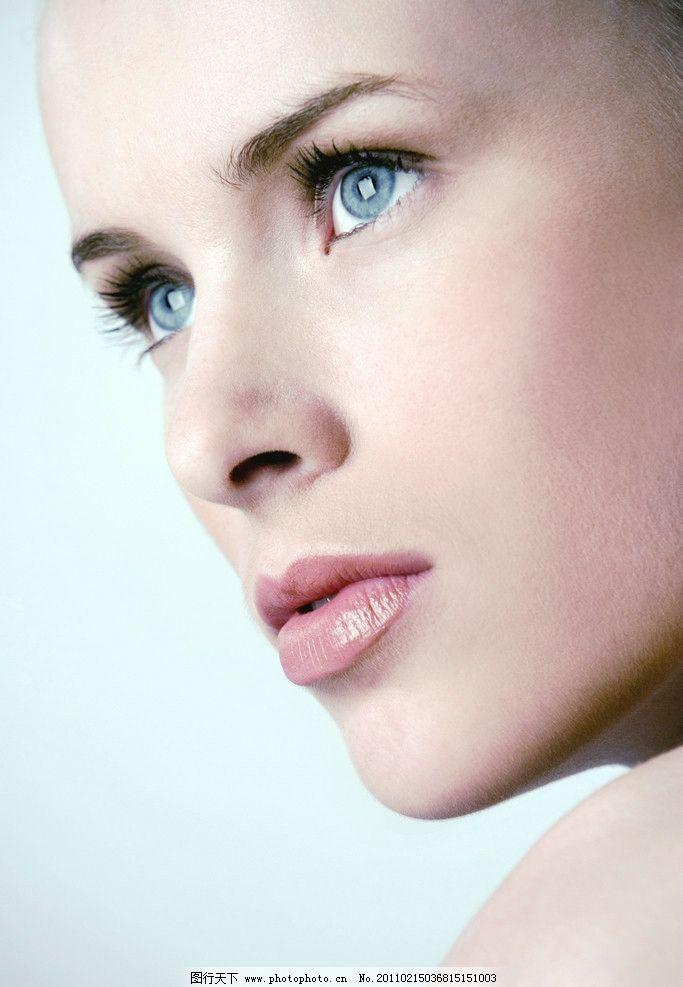 美女眼睛嘴唇图片_女性女人_人物图库_图行天下图库