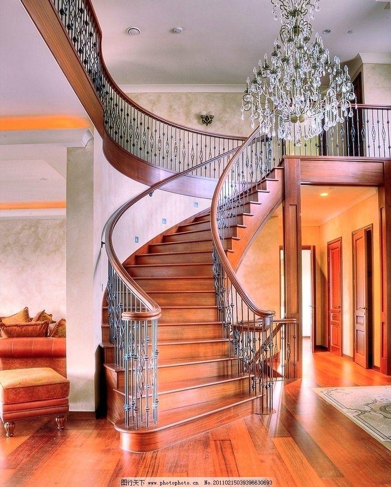楼梯 钢梯 铁艺 铁艺楼梯 踏步 扶手 室内摄影 建筑园林