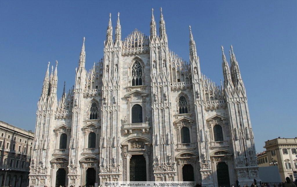 欧式教堂 欧式 教堂 哥特式 尖顶建筑 欧洲 旅游 建筑摄影 建筑园林图片