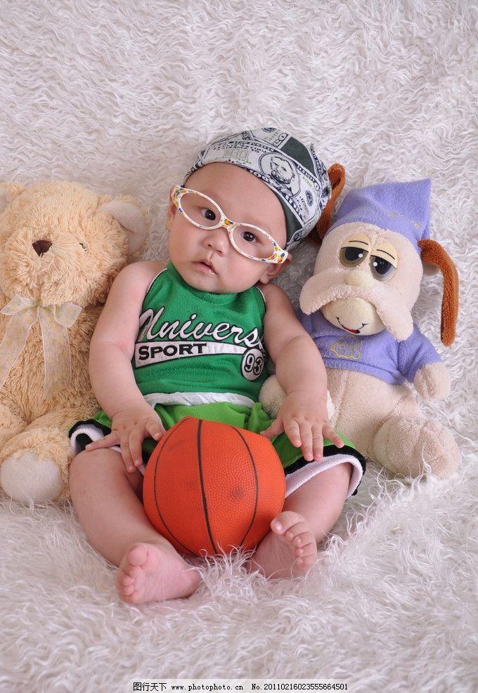 可爱宝宝摄影图片