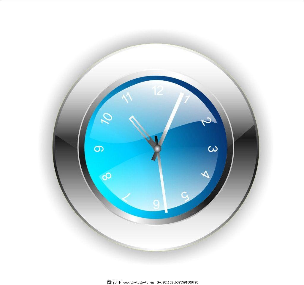 矢量钟表设计图片