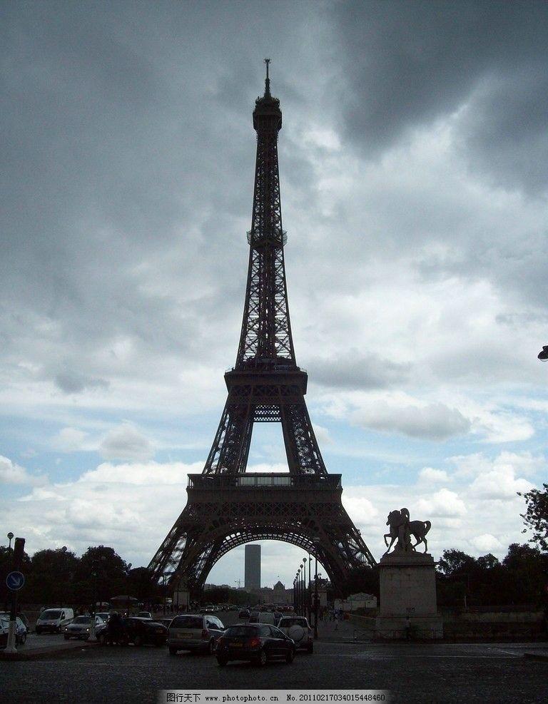埃菲尔铁塔 风光摄影 旅游摄影