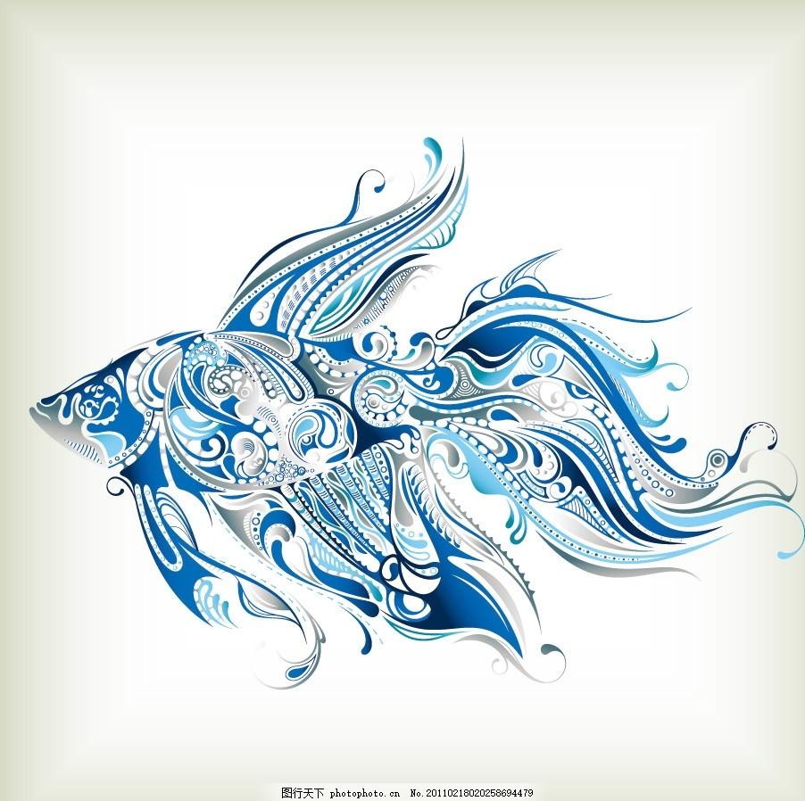 展板边框手绘海洋