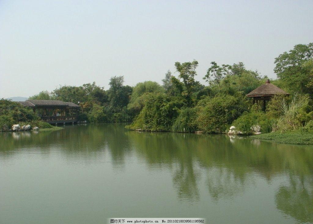 现代风景巴克式园林