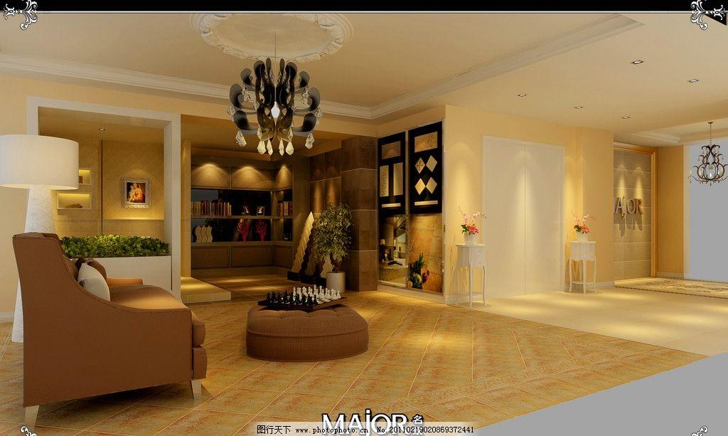 室内设计 田园风格 简约 时尚 整体 经典 无以伦比 背景墙 其他素材