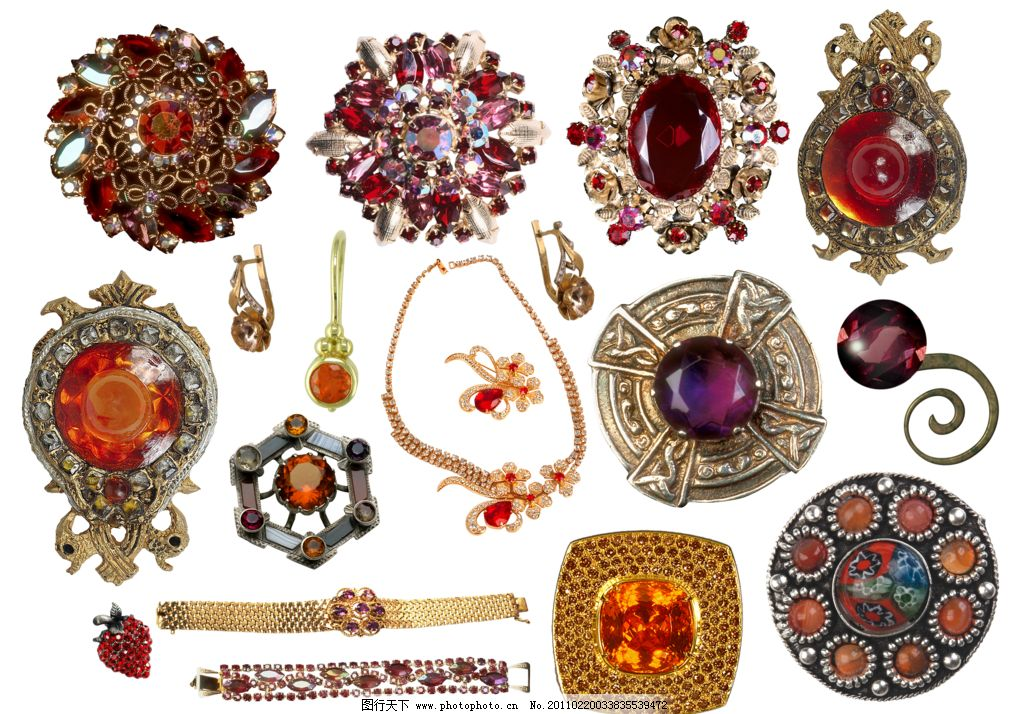 金属饰品 金属 饰品 首饰 饰物 装饰 珠宝 图片素材 其他 设计 117dpi