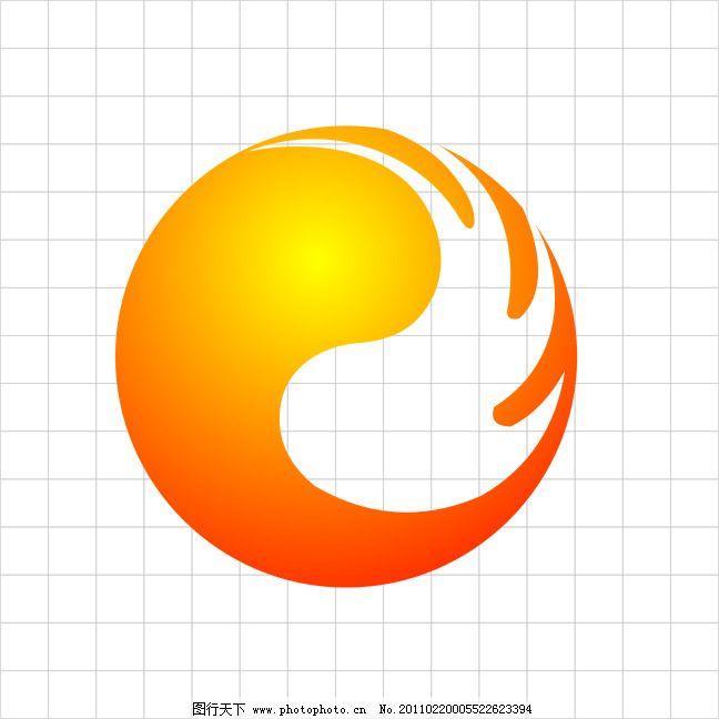 火活力标志免费下载 火 球 火 球 结合显示出活力 运动为主 矢量图
