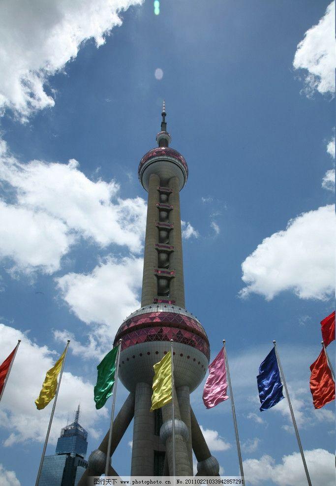 上海东方明珠塔图片