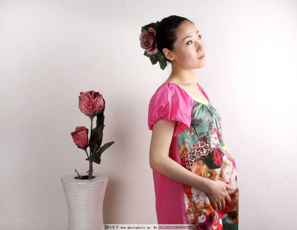 孕妇照片图片_女性女人