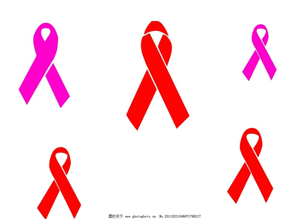 红丝带形状 丝带形状 绸带形状 红丝带 丝带 绸带 自定义形状      ps图片