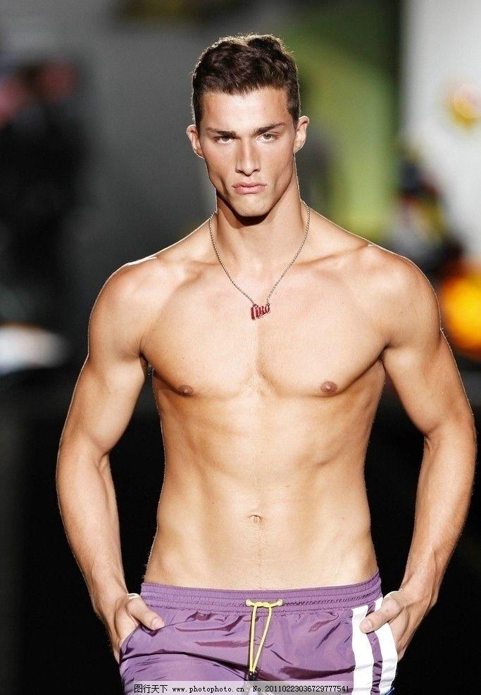 男模 内衣 内裤 男性 男人 男子 帅男 帅哥 英俊 俊美 俊男