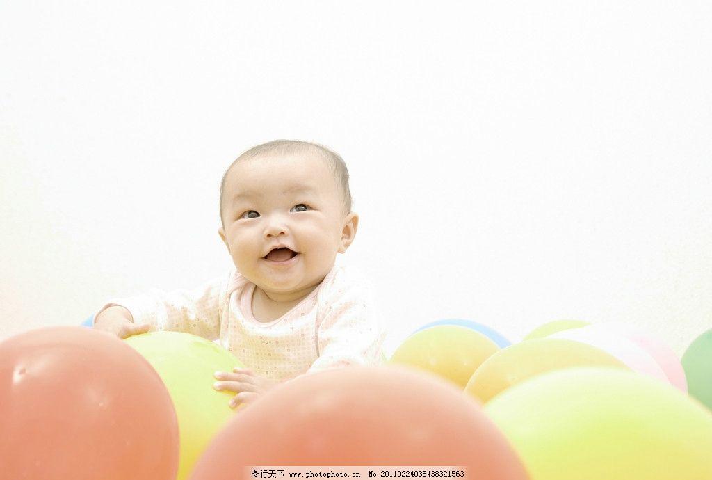 玩气球的宝宝婴儿 婴儿 宝宝 幼儿 宝贝 娃娃 孩子 可爱 儿童幼儿jpg