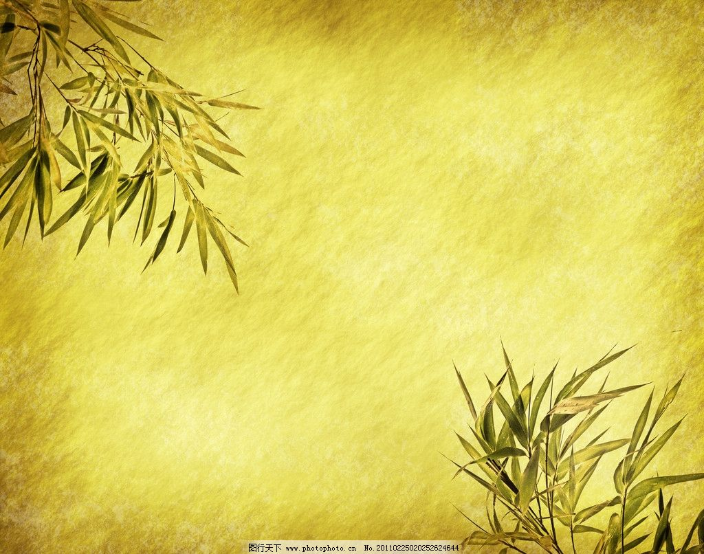 怀旧绿色竹叶背景 怀旧 古典 竹子 绿竹 竹叶 背景 底纹 设计背景主题 背景底纹 底纹边框 设计 300DPI JPG