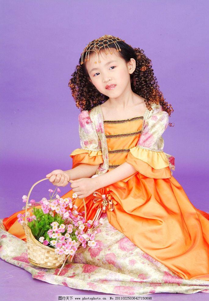 小美女 艺术照 摄影 幼儿 宝宝 天真 活泼 可爱 小孩子 小女童 儿童