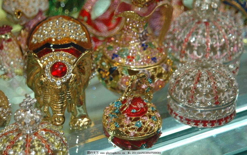维吾尔族手工艺 珠绣 糖果盒 彩珠 传统文化 文化艺术 摄影 300dpi