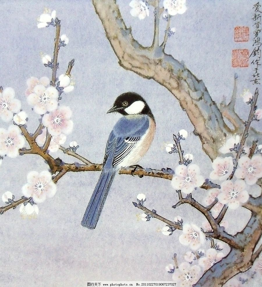国画 山水 花鸟图片