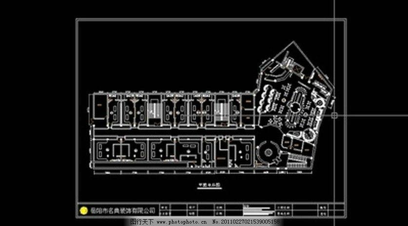 一套音乐酒吧精装修图纸 工装施工图 主题酒吧装修图 其他模型 源文件