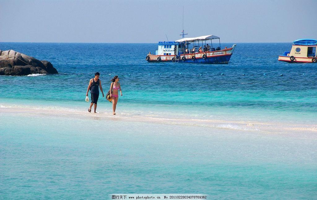 苏梅岛 泰国海岛 日光浴 龟岛 南幽岛 大海 海滩 国外旅游 摄影