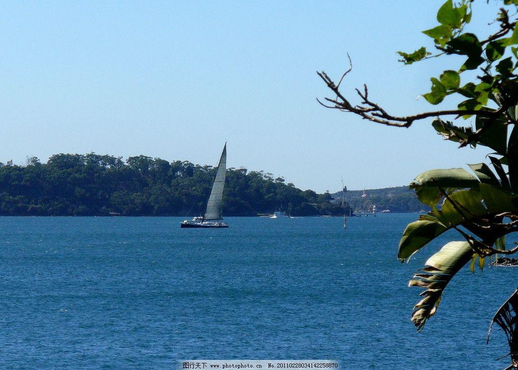 帆船 大海 海景 自然风光 风光摄影 美丽风光 美丽风景 旅游摄影