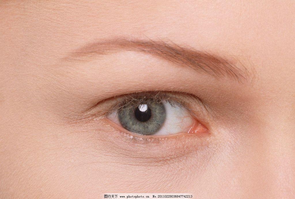 睫毛 瞳孔 美容 化妆 打扮 人眼 迷人 明亮 眉毛 眼睫毛 美丽眼睛