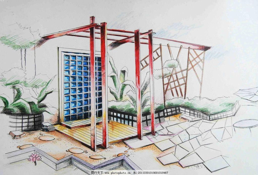 园林景观 景观设计 小区景观 建筑景观 景观效果图 景观园林设计 人文