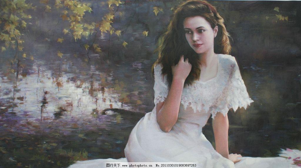 何岸 油画 风景 婚纱 摄影 山水油画 绘画书法 文化艺术