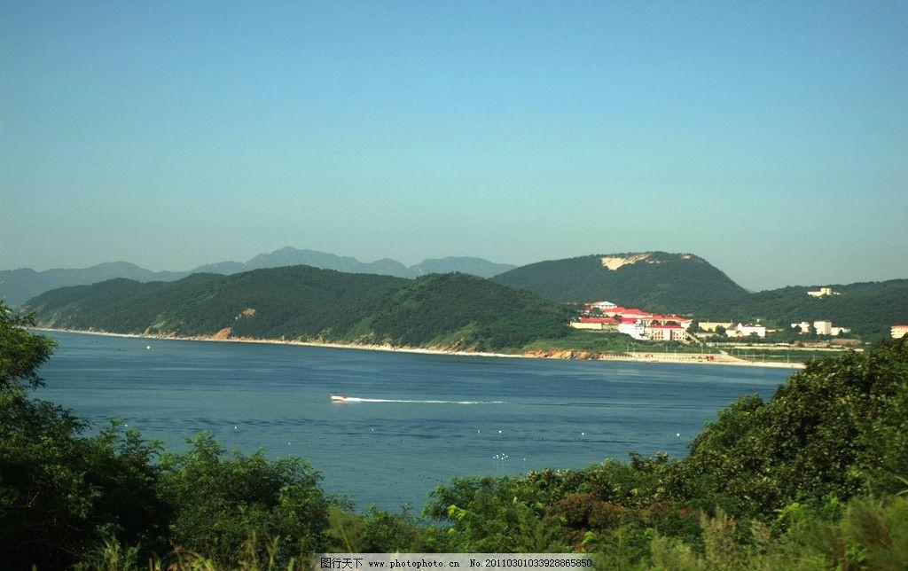 大连风光 海滨风光 游人 海岛 船 国内旅游 摄影