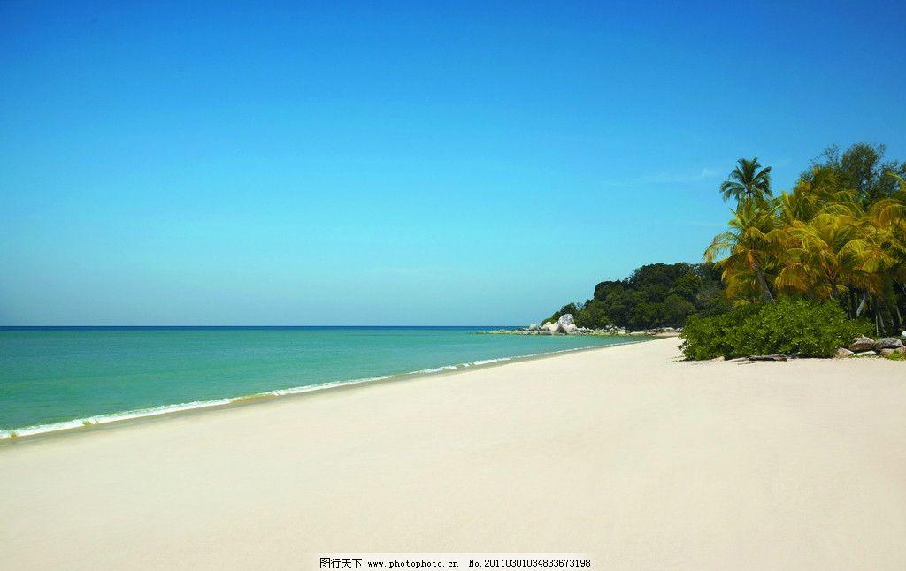 海边 海岛 岛屿 酒店设计 香格里拉酒店 五星级酒店 海滩 沙滩 自然风