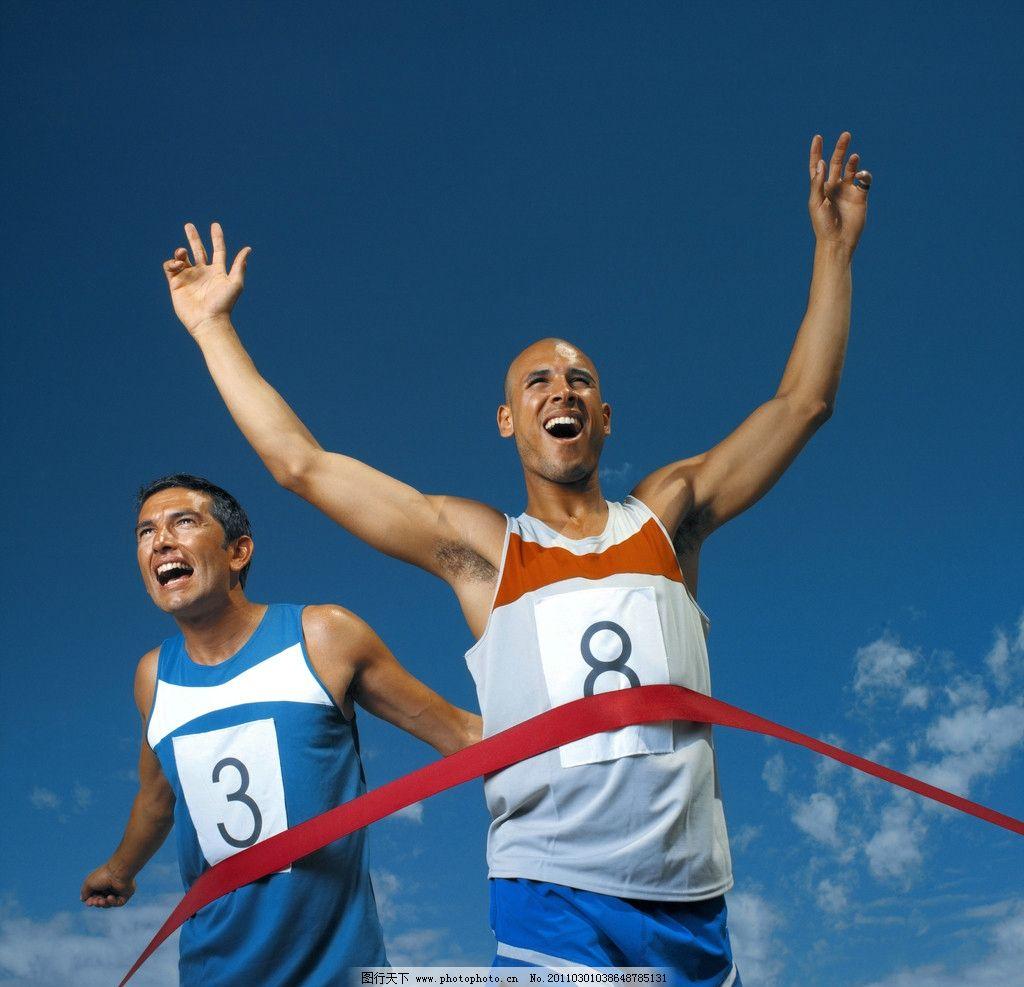 摄影图库 文化艺术 体育运动  冲刺 运动 运动员 跑步比赛 跑步 跑步