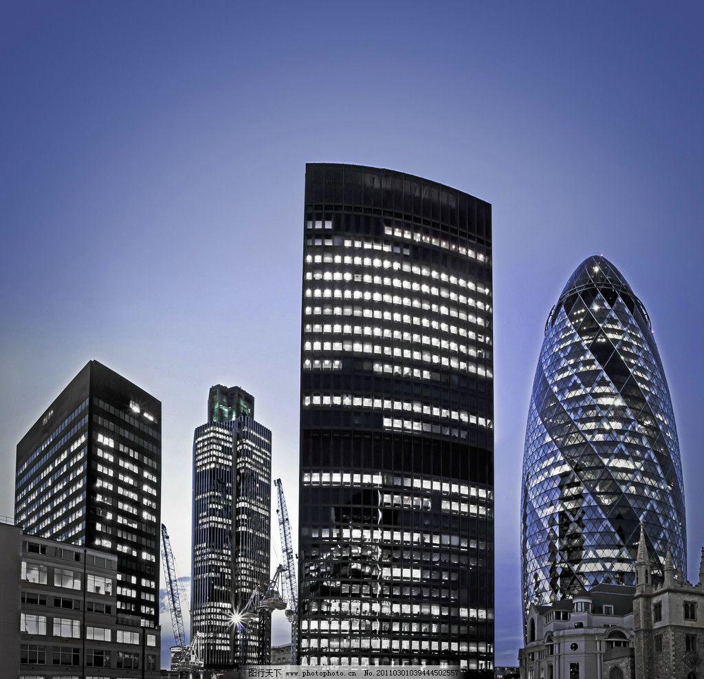 周用清 摄影/城市高楼大厦夜景图片