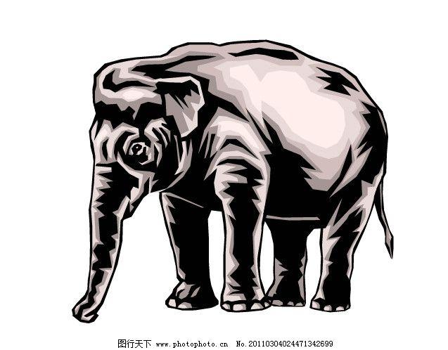 野生动物 保护 野生动物矢量 动物矢量图 爱护动物 动物素材 动物绘画