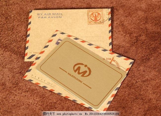 欧式信封图片_其他_名片卡牌