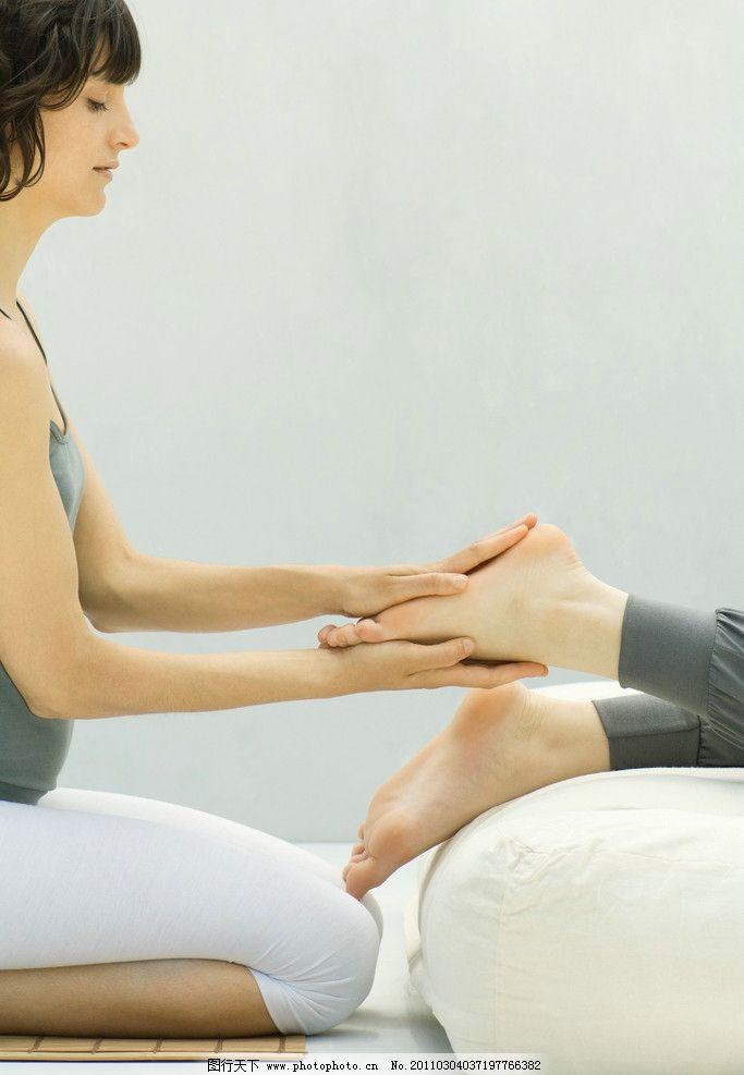 脚部护理 少女 水疗 spa 脚部 按摩 娱乐休闲 桑拿 人体按摩 美体