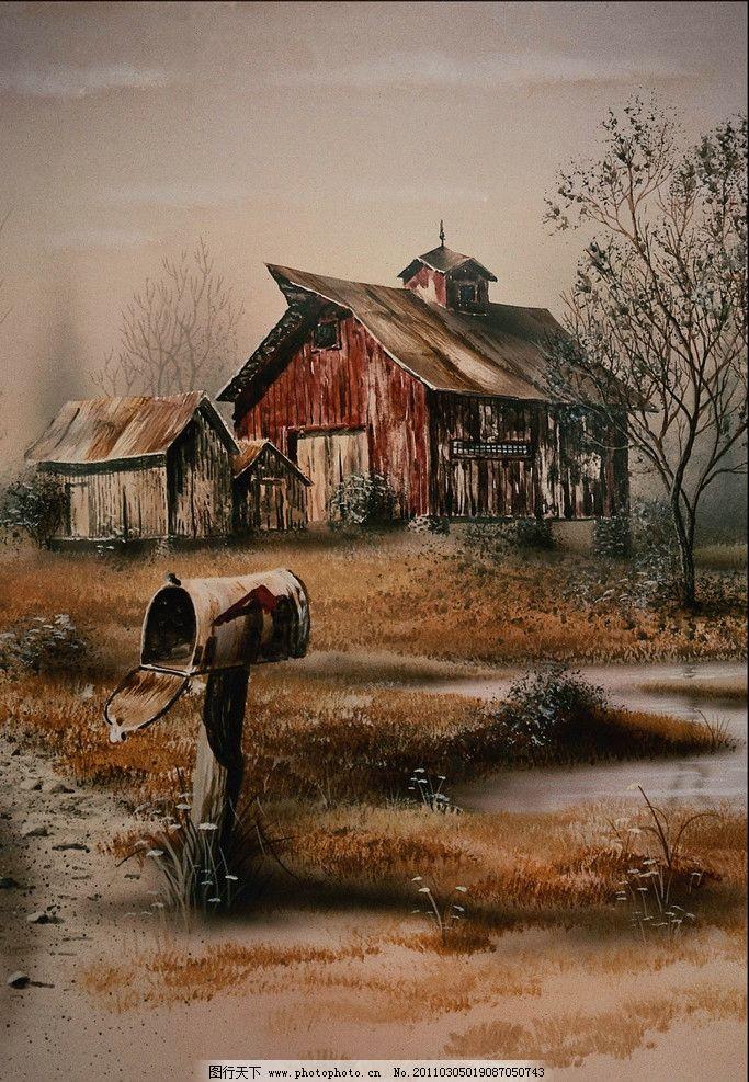 意景 创意画 设计创意画 色彩创意 彩画 水彩画 水彩 风景 水彩风景画