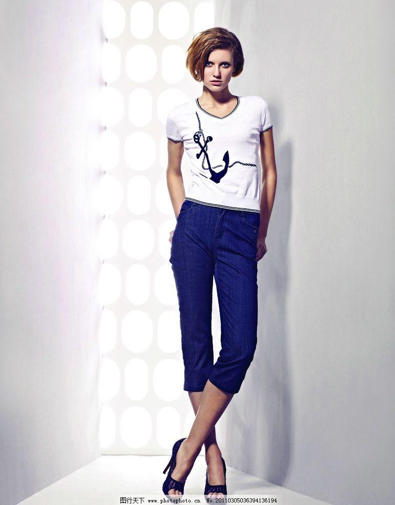 夏装 新款上市 夏装新品 模特 服装模特 夏装服装模特 外国美女 女性