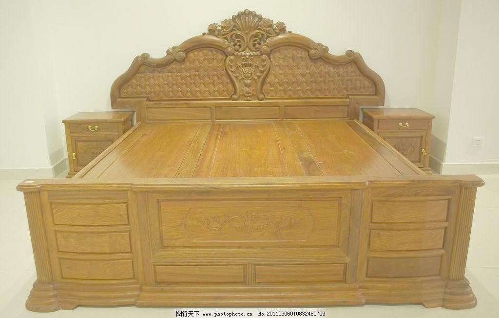 欧式家具床图片_其他_装饰素材