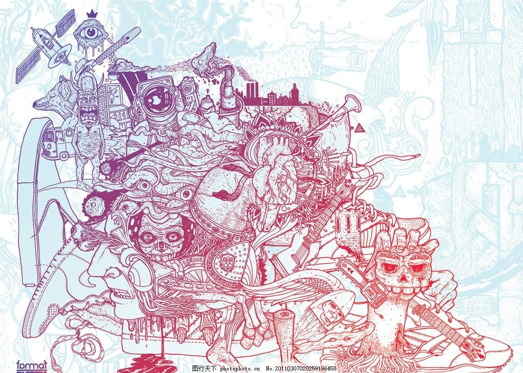 创意涂鸦桌面壁纸
