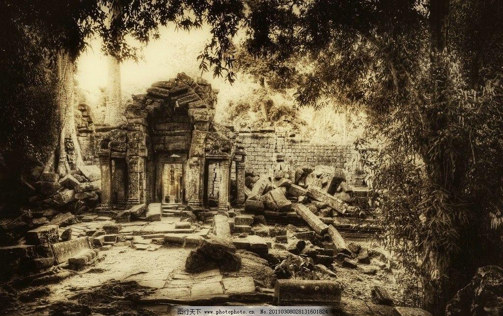 古代建筑遗迹图片