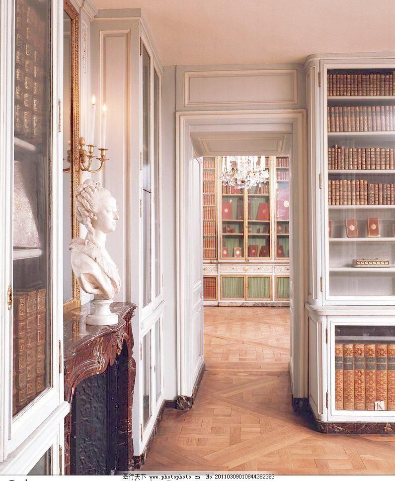 欧式 欧式室内高清图片图片素材下载 欧式室内高清图片 书房 欧式建筑图片