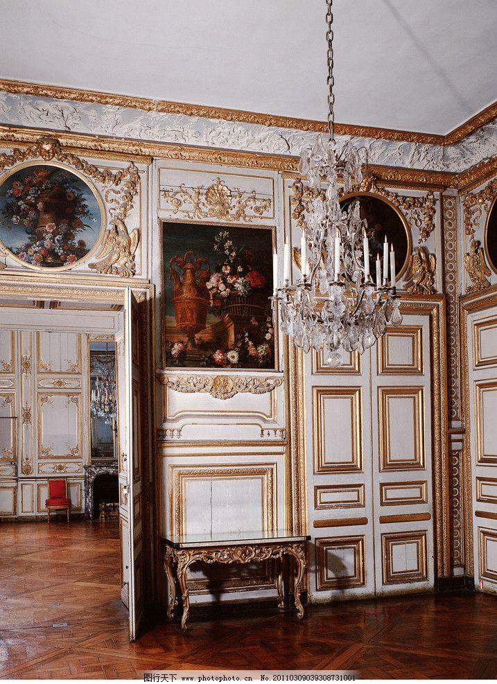 欧式室内高清 欧式建筑 皇宫 宫殿 雕塑 尊贵 欧式室内设计 吊灯