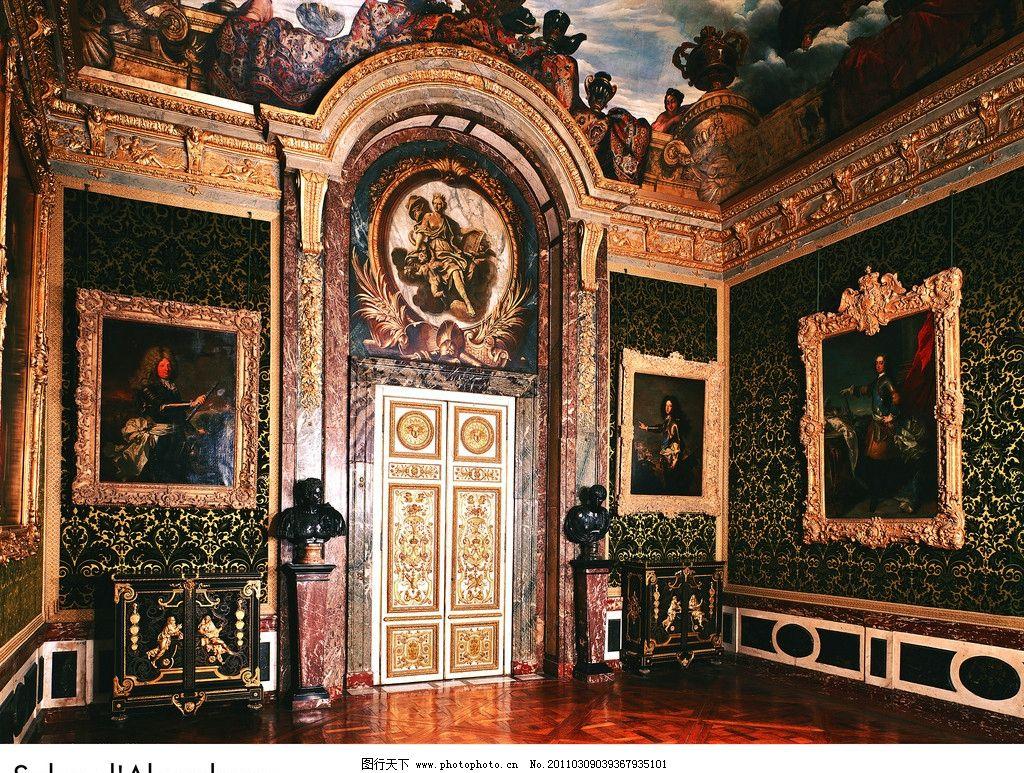 欧式 皇宫 宫殿 雕塑图片