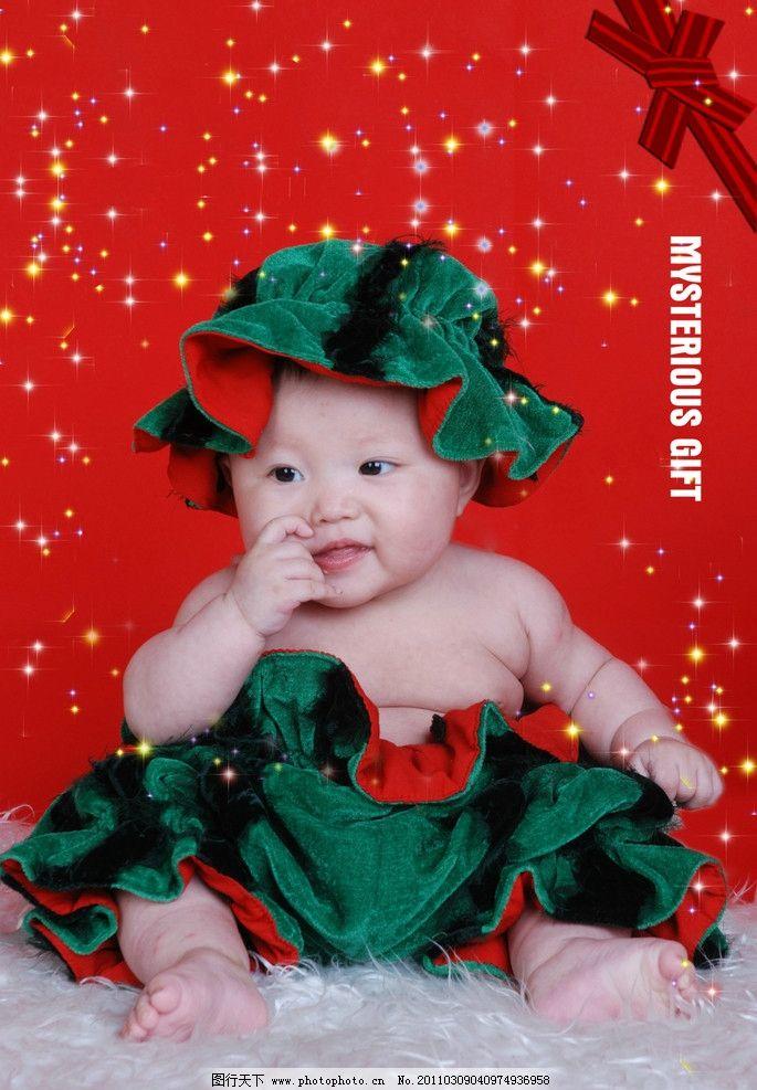 爱笑的宝宝 可爱 快乐 宝宝 小孩 小姑娘 幼儿 生日照 西瓜装 可爱