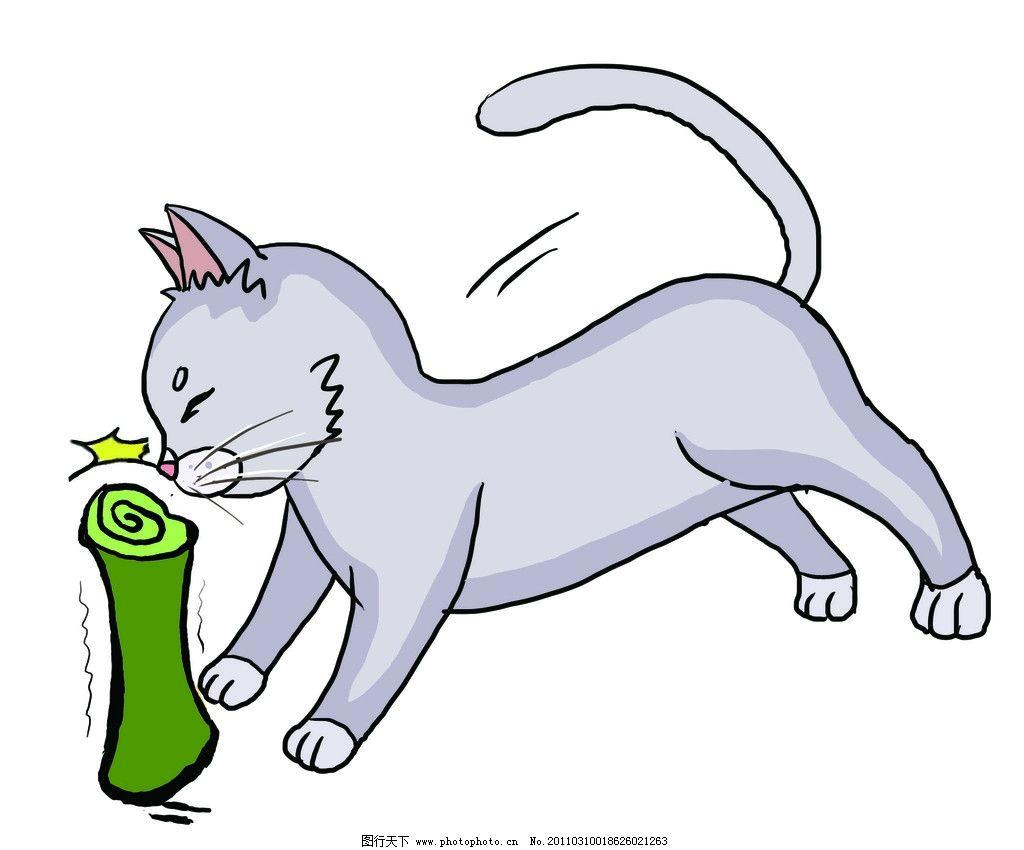 小猫 可爱的猫 纸 其他 动漫动画 设计 300dpi jpg