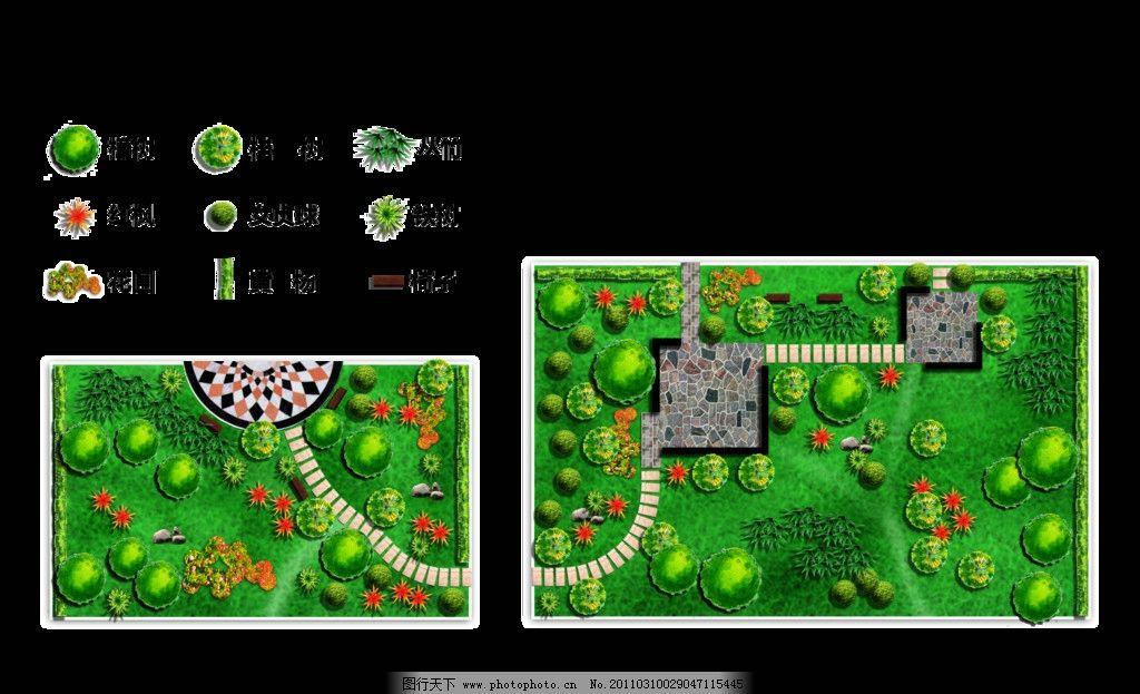 绿化平面图 小区 学校 校园 园林 绿化        其他设计 环境设计 源