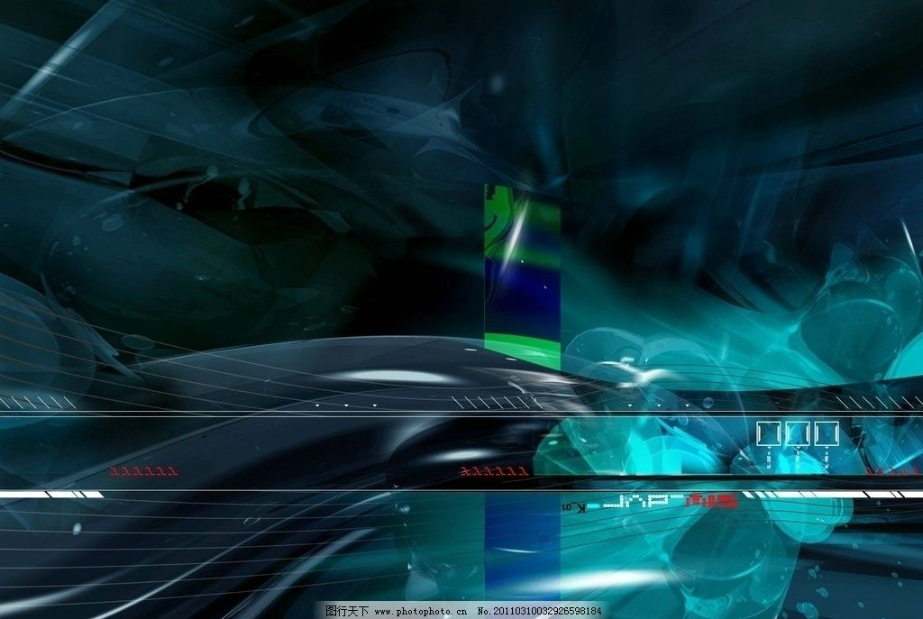 深蓝色科幻背景图片
