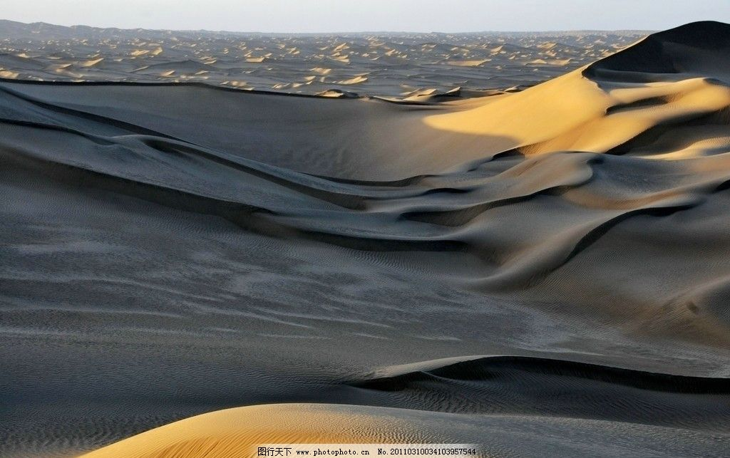 塔克拉玛干大沙漠 新疆