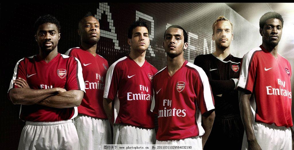 nike足球海报 nike 足球 阿森纳 墙 光 广告设计 设计 150dpi jpg