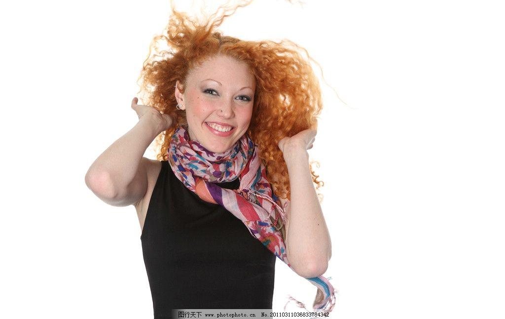 秀发发型感嘴唇美女发型头发发型设计感红唇漂亮美女理发