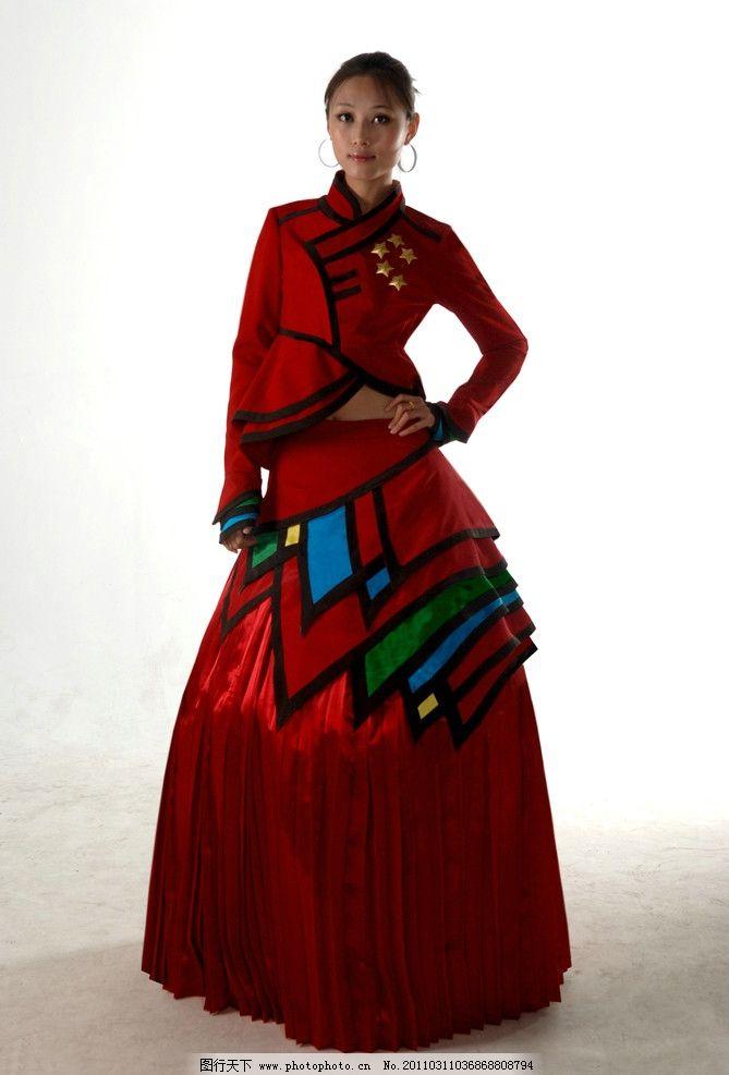 民族風格服裝設計圖片